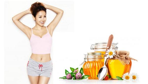 Cách giảm béo mặt bằng mật ong
