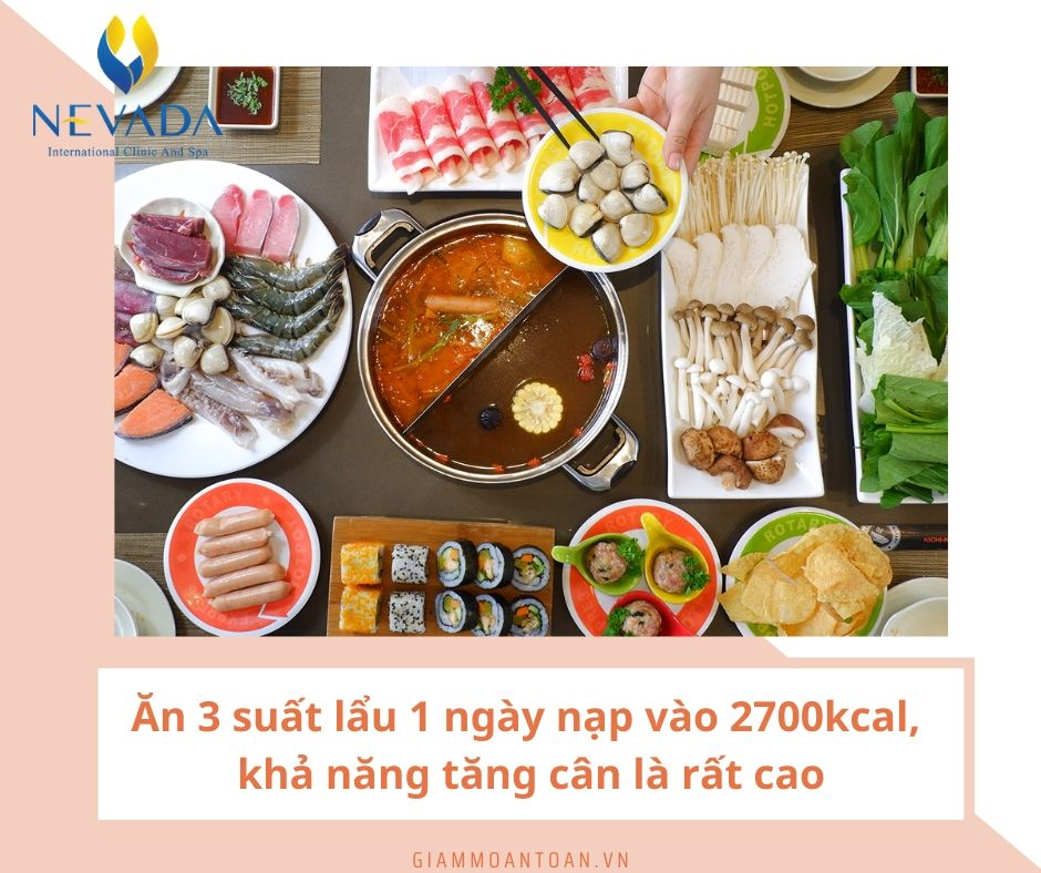 ăn lẩu có béo không 30, cách nấu lẩu giảm cân, ăn lẩu giảm cân, 1 bữa lẩu bao nhiêu calo, lẩu cho người ăn kiêng, ăn lẩu giúp giảm cân