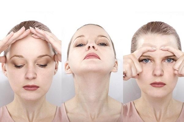 bấm huyệt giảm béo mặt, bấm huyệt thon gọn mặt, cách bấm huyệt giảm béo mặt tại nhà