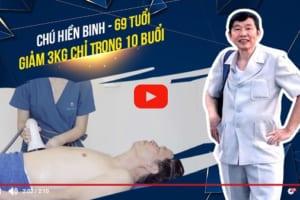 Tuổi xế chiều không ngăn chú Hiền Binh tìm đến con đường giảm béo bằng công nghệ   Một cái kết có hậu cho người đàn ông 69 tuổi