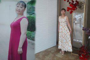 Giảm tới 3 size quần áo, đẩy lùi bệnh đau mỏi xương khớp   Cô Trà thực hiện ước mong chinh phục đỉnh Yên Tử