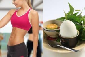 Tập gym có nên ăn trứng vịt lộn không? Gymer nên ăn theo chế độ nào để có kết quả giảm cân tốt nhất?