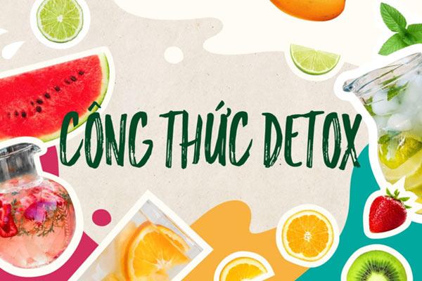 detox trái cây giảm mỡ bụng, cách làm detox trái cây giảm mỡ bụng