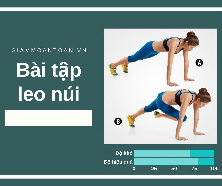 bài tập giảm mỡ bụng 3 phút mỗi ngày