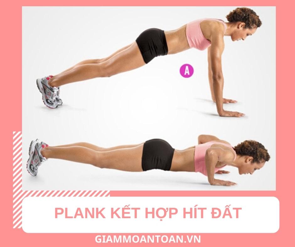 Tập plank có giảm mỡ bụng dưới không