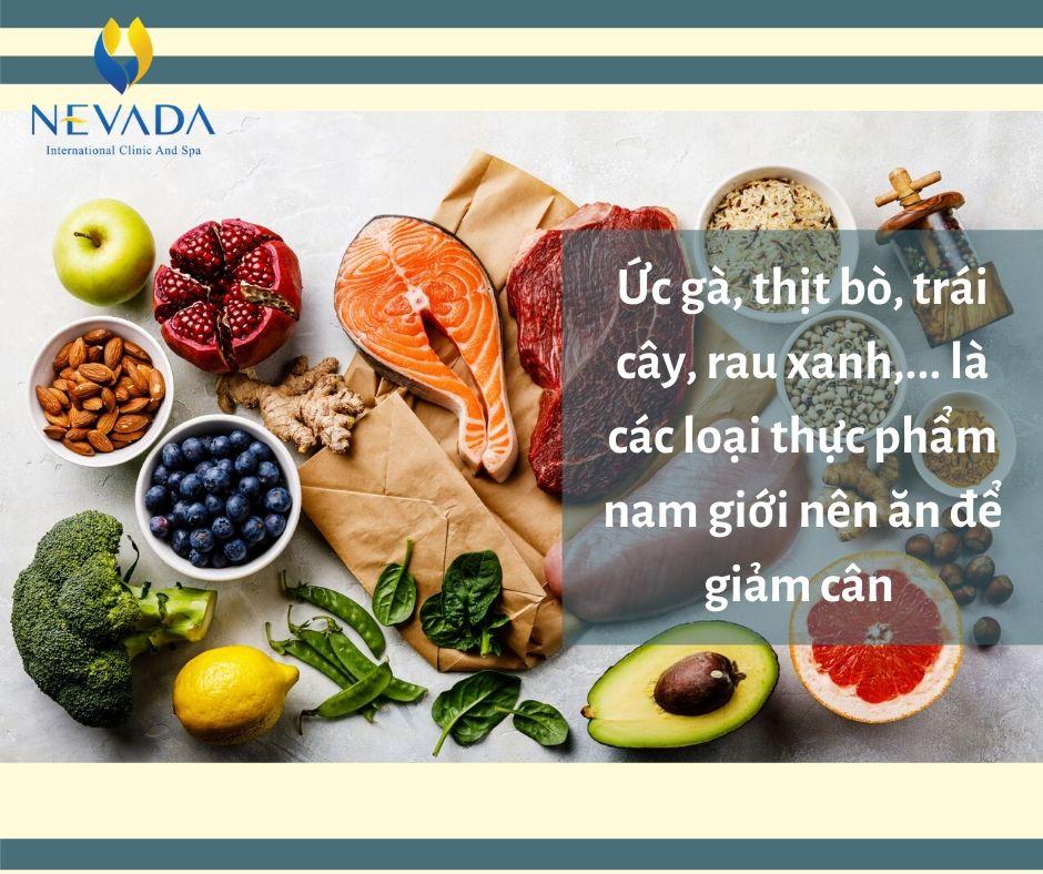 chế độ ăn kiêng giảm mỡ bụng cho nam giới hiệu quả