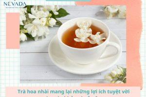 Uống trà hoa nhài có giảm cân không? Cách uống trà hoa nhài giảm cân hiệu quả