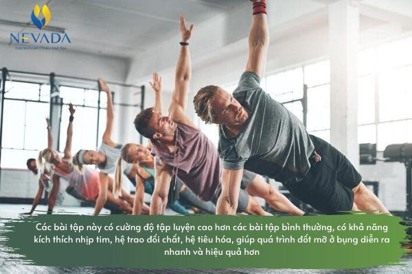 Các bài tập cardio giảm mỡ bụng cho nam tại nhà